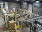 Palletizing systems for bags